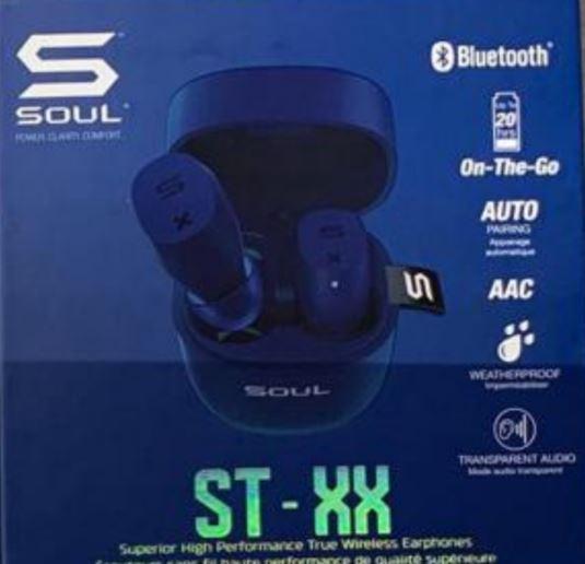 [香港行貨] 全新 SOUL STXX 5.0 True Wireless[6色]
