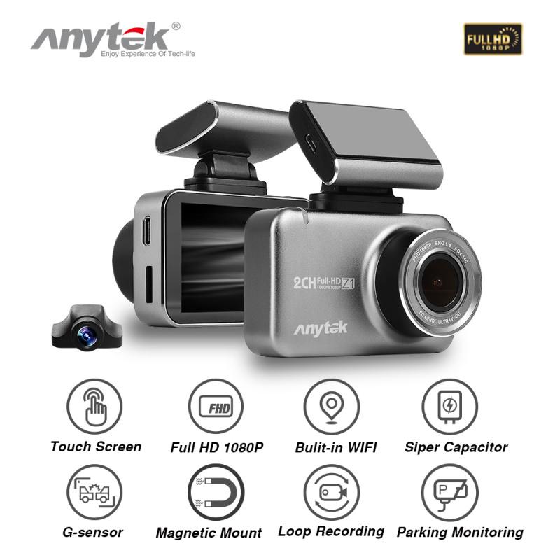 ANYTEK Z1 WIFI 前後1080P雙鏡頭行車記錄儀車cam