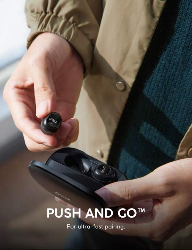 [香港行貨] Anker Zolo Liberty [Upgraded] True-Wireless Headphones [8小時播放時間(100小時帶充電盒)BT 5.0 /石墨烯驅動技術/IPX5防汗]
