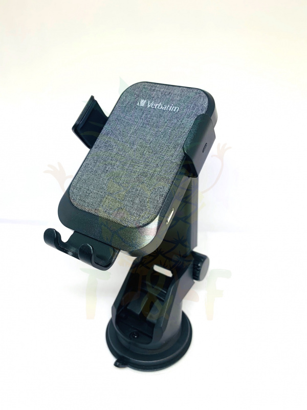 Verbatim 15W 無線充電車座配自動偵測支架 66196