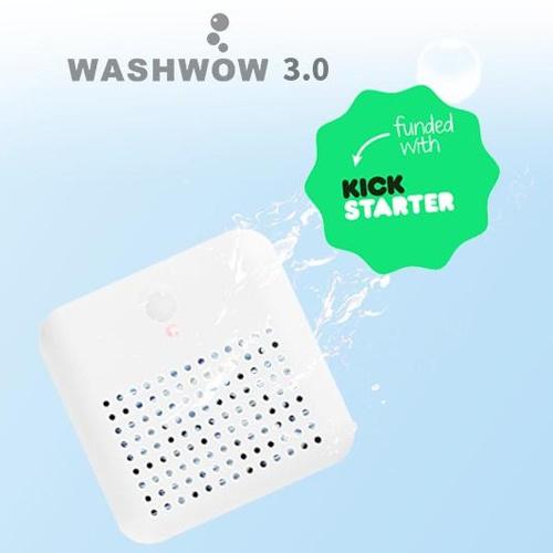 WASHWOW 3.0 迷你便攜電解洗衣機 香港行貨 [預購]