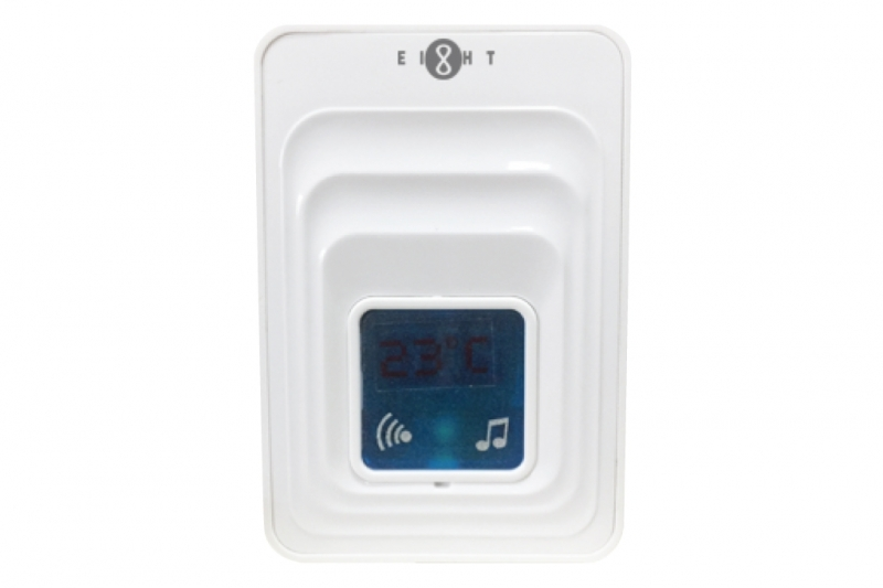 EIGHT DB-T48-R DOORBELL WITH DIGITAL THERMOMETER ONLY - 無線溫度計門鈴