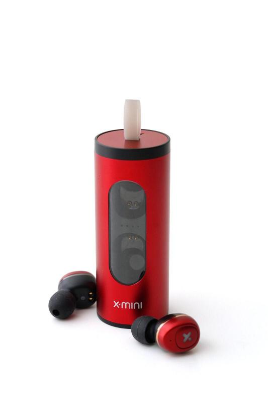 X-Mini LIBERTY S 真無線藍牙耳機 紅色加强版 (工商免運)