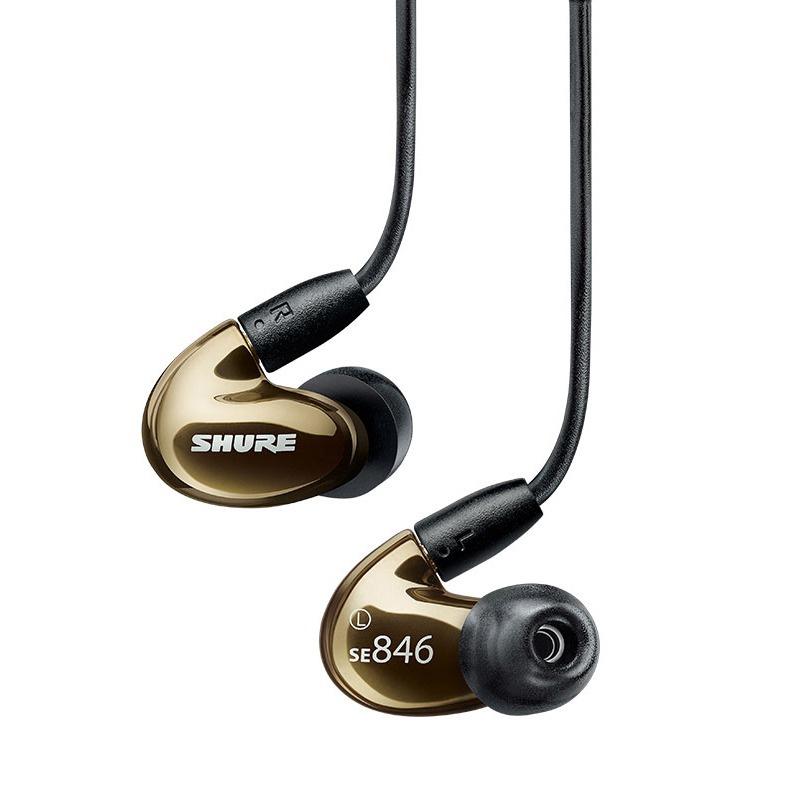 Shure SE846 監聽級四單元入耳式隔音耳機 [3色]