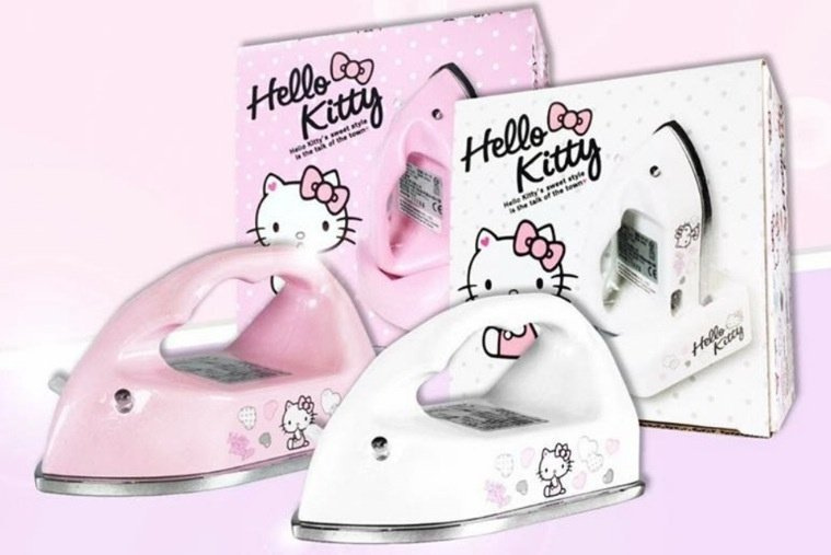 TSL 超迷你無線掌上熨斗 - Hello Kitty