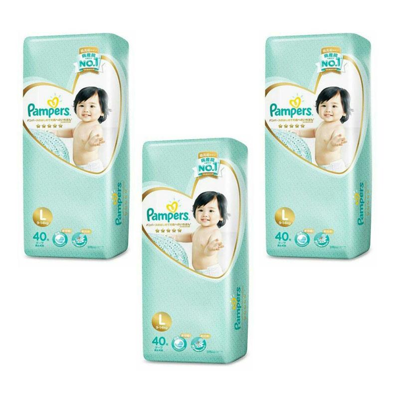 Pampers Ichiban 一級幫日本內銷版尿片 [3包裝] [2尺寸]