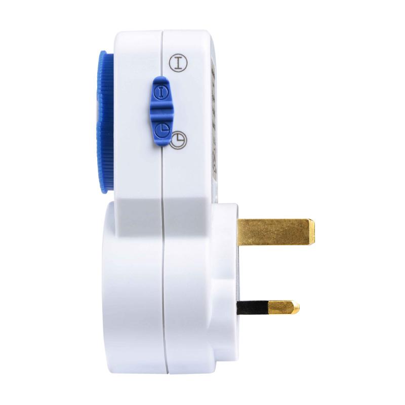 英國Masterplug - 機械式電源定時器- 24小時定時斷電設定 - TMS24