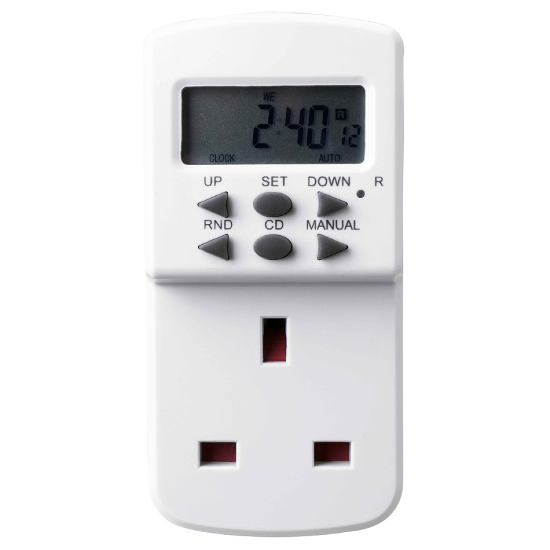 英國Masterplug - 7天電子定時計時器 - TES7  ELECTRONIC TIMER 7 DAYS PROGRAMMABLE
