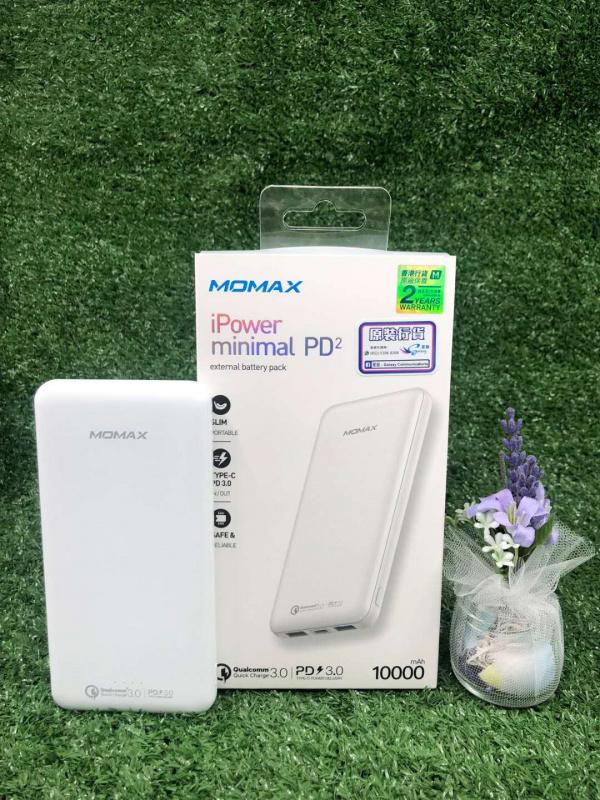 Momax iPower Minimal PD2 流動電源 10000mAh