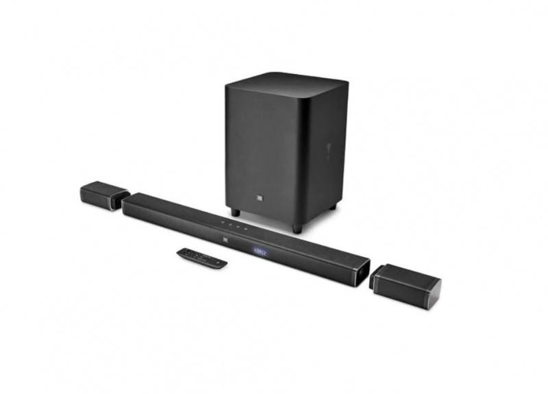 JBL Bar 5.1 [5.1-Channel] 4K Ultra HD Soundbar with True Wireless Surround Speakers