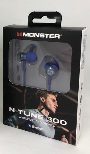 【香港行貨】Monster N-TUNE 300 無線藍牙耳機 [2色]