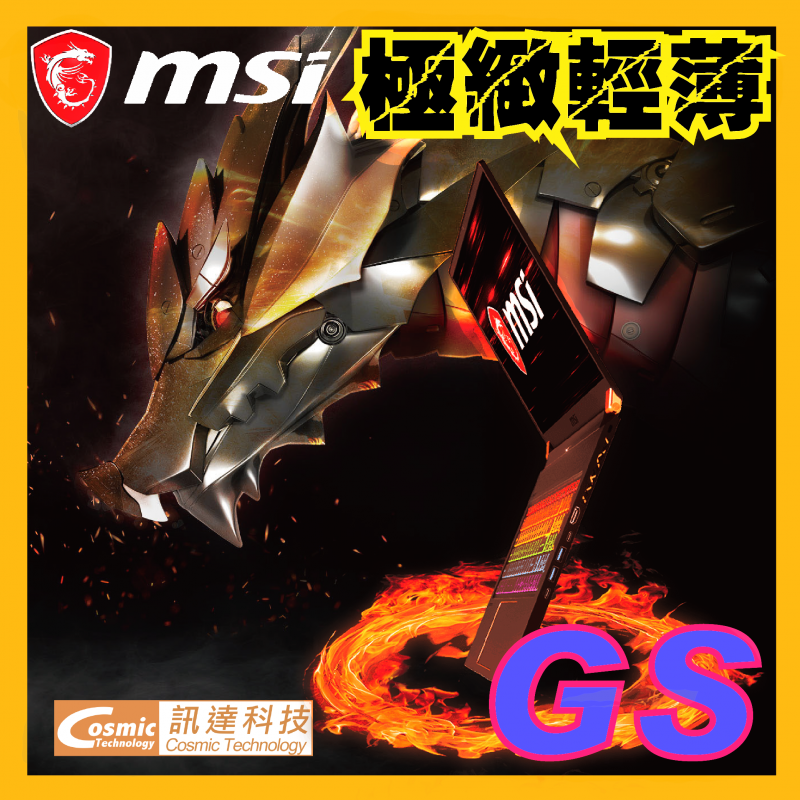 MSI 極致輕薄電競筆電 17.3吋 (GS75-9SE-RTX2060)
