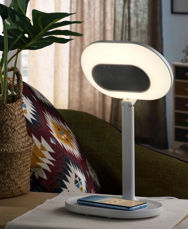 Momax Q.LED MIRROR化妝鏡連無線充電及藍牙音箱