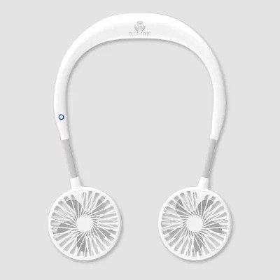 韓國 Blueidee 頸掛式雙頭USB風扇 現貨
