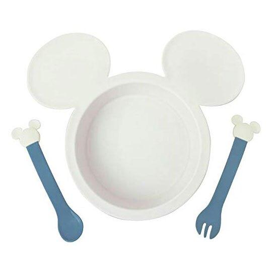 日本製 迪士尼兒童造型三件式餐具套裝