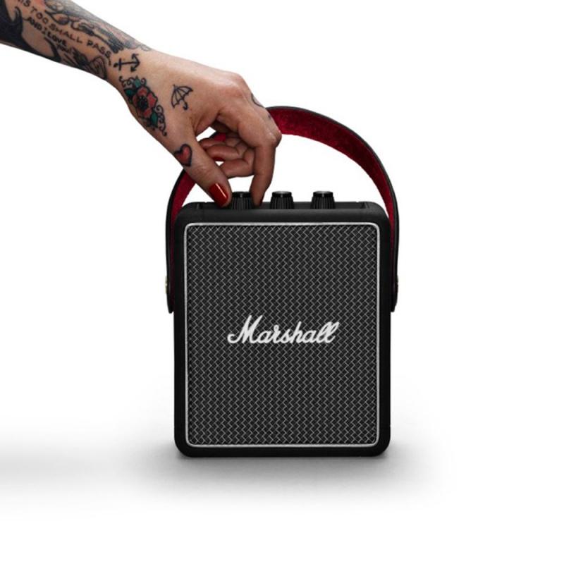 Marshall Stockwell II 攜帶式藍牙喇叭 [黑色]