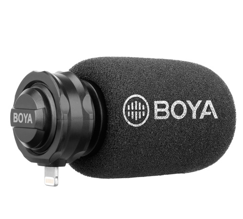 BOYA - Lightning MFI 指向式數碼收音咪 BY-DM200(工商免運)