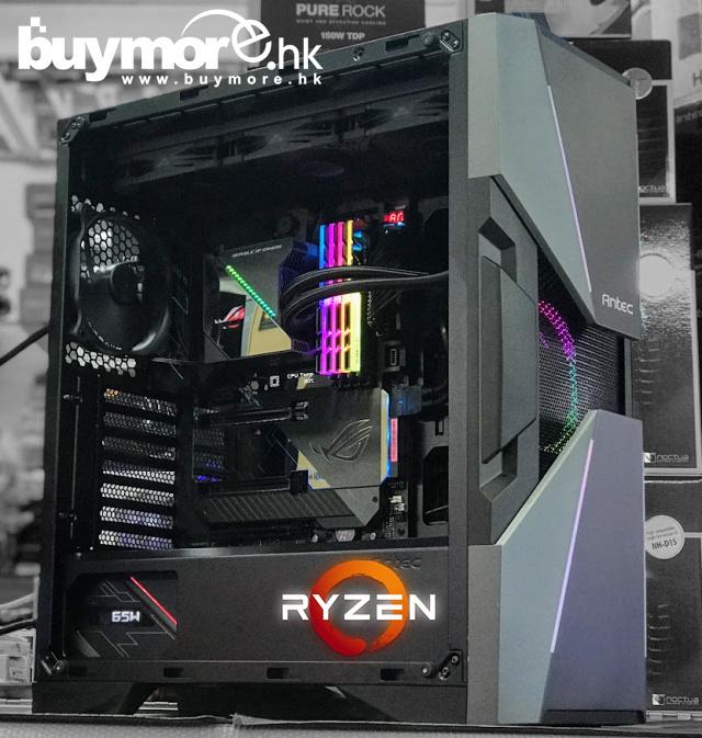 💡【全城熱賣】 最新AMD Ryzen 5 3800x十二核心處理器 ASUS X570 ROG Crosshair VIII Hero主板 G.SKILL Trident 32G 3600Mhz記憶體 Samsung 970 EVO 500G NVMe SSD ANTEC DA601機箱 ASUS ROG-THOR-850P火牛 ASUS ROG Ryujin 360水冷 Wh
