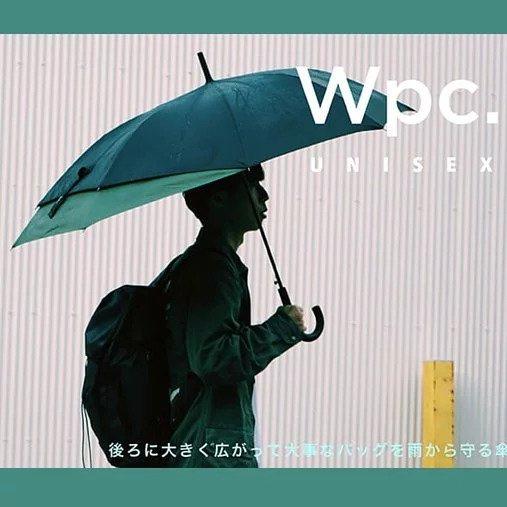 日本W.P.C Unisex Back Protect 延伸雨傘 現貨