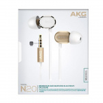 AKG N20 入耳式耳機 [金色]