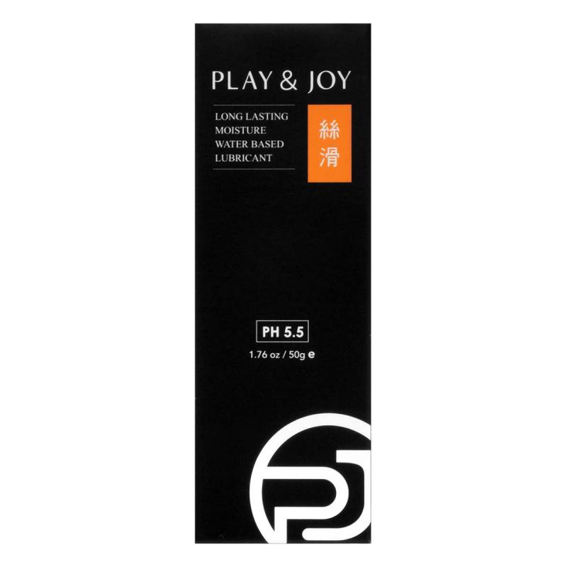 PLAY & JOY 絲滑 50ml 水性潤滑劑