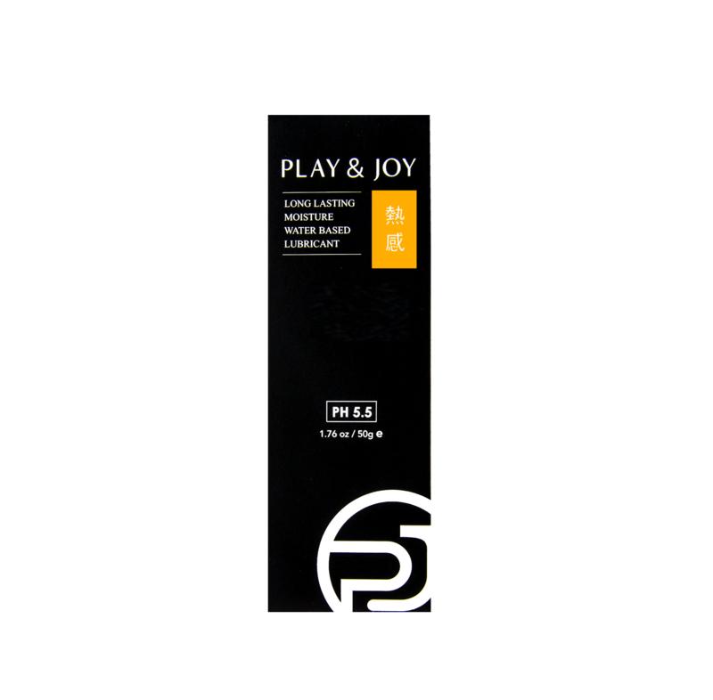 PLAY & JOY 熱感潤滑液 50 ML