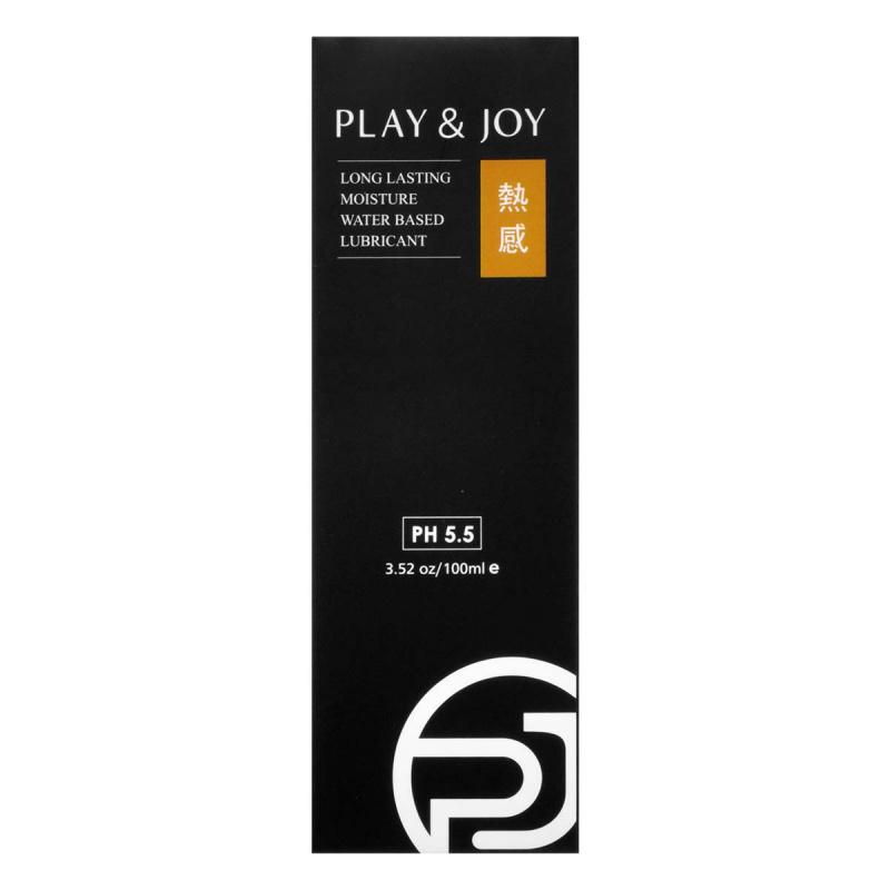 PLAY & JOY 熱感 100ml 水性潤滑劑
