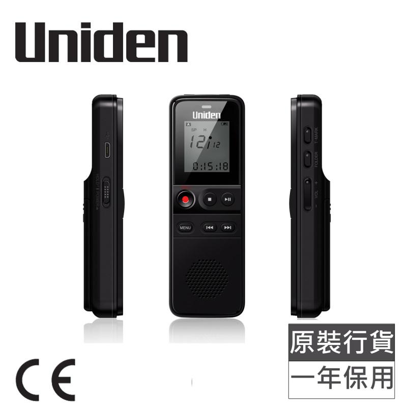 日本Uniden - 8GB 數碼錄音筆 黑色 AA1103 DIGITAL VOICE RECORDER Black