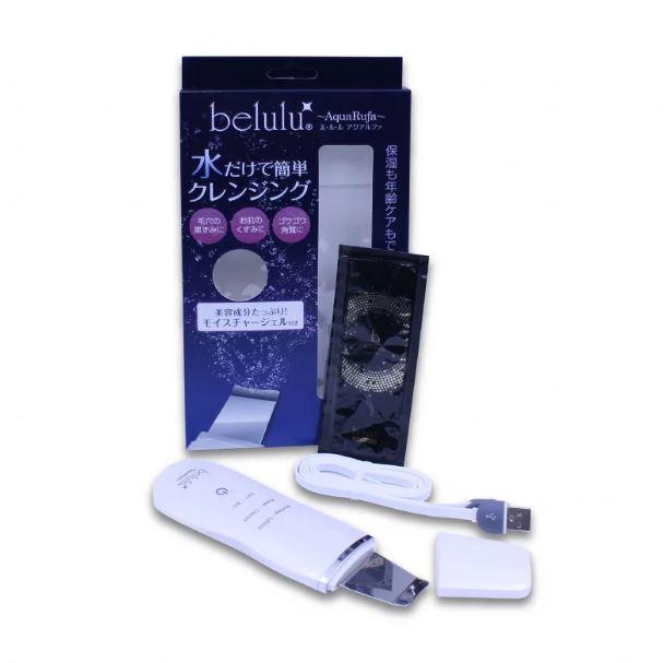【香港行貨】[日本製] belulu AquaRufa 去角質導入導出潔膚儀 [2色]