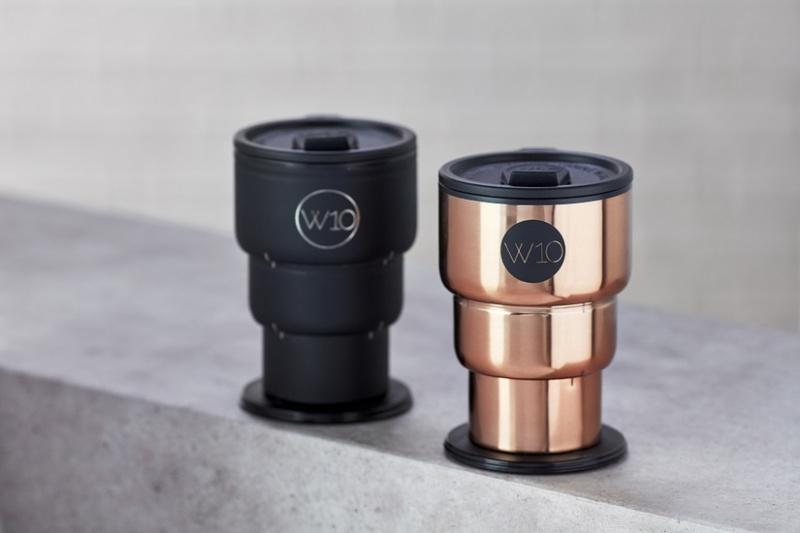 W10 雙層不銹鋼折疊保溫杯 [2色]