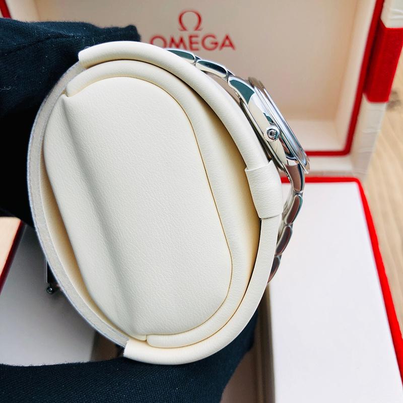 OMEGA 歐米茄 蝶飛典雅系列 27.4毫米 不銹鋼 白面 石英 424.10.27.60.55.001