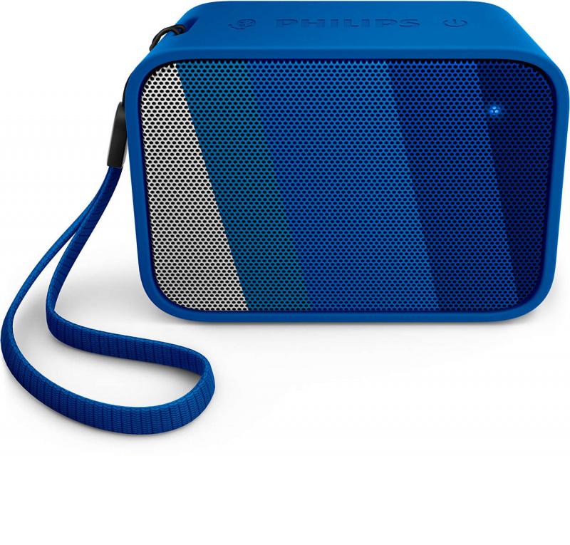 Philips - 便攜式藍牙喇叭 BT110A/00 (藍色) PixelPop Wireless Portable Bluetooth Speaker (Blue)