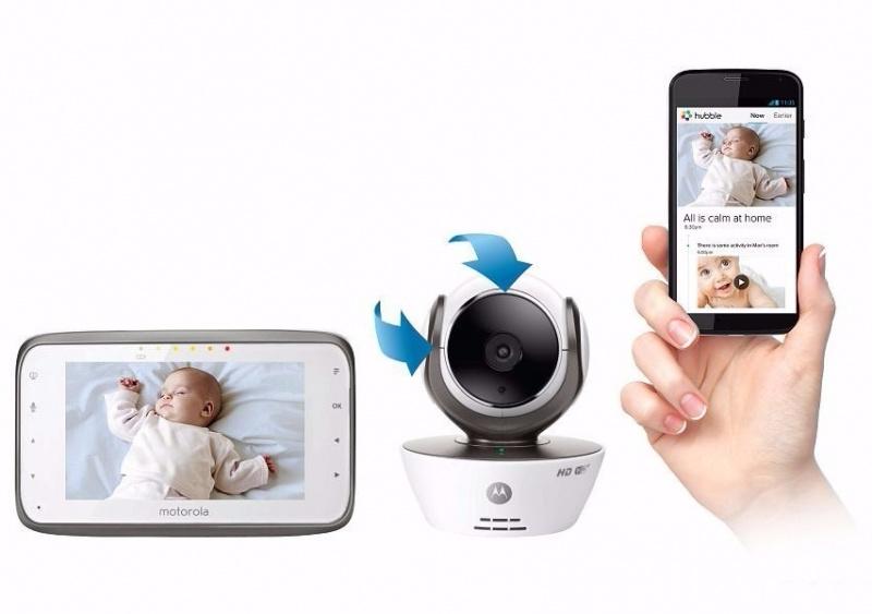 Motorola MBP 854 嬰兒監護器
