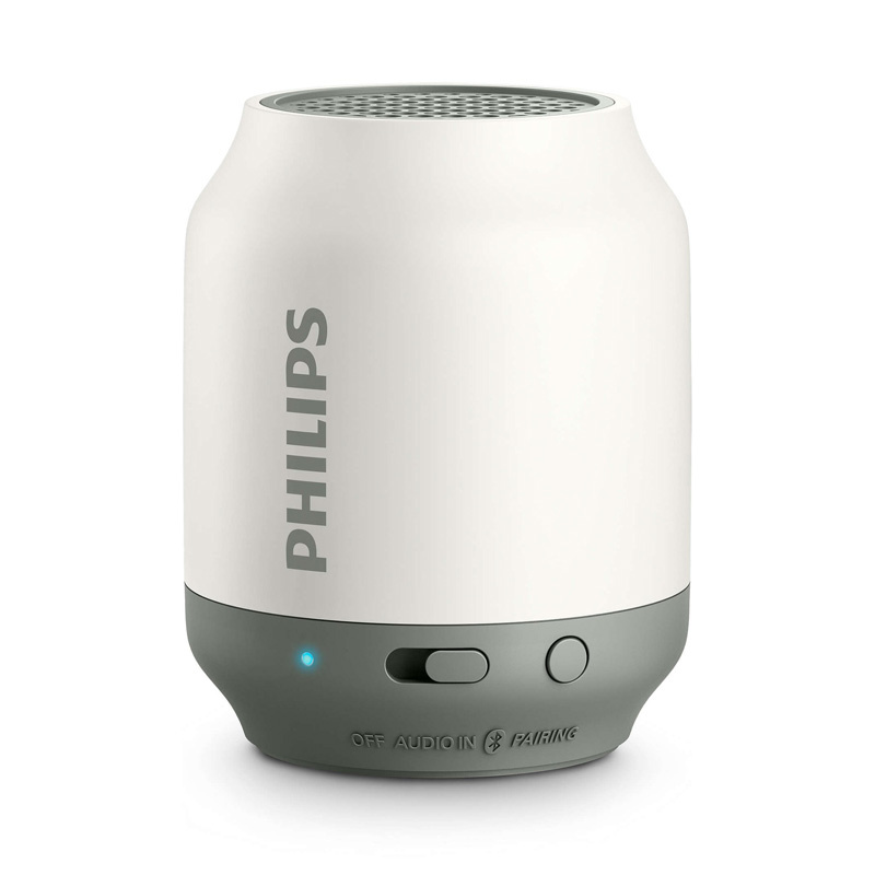 Philips - 無線便攜式喇叭 BT50W/00 - 白色 Wireless Portable Bluetooth Speaker White