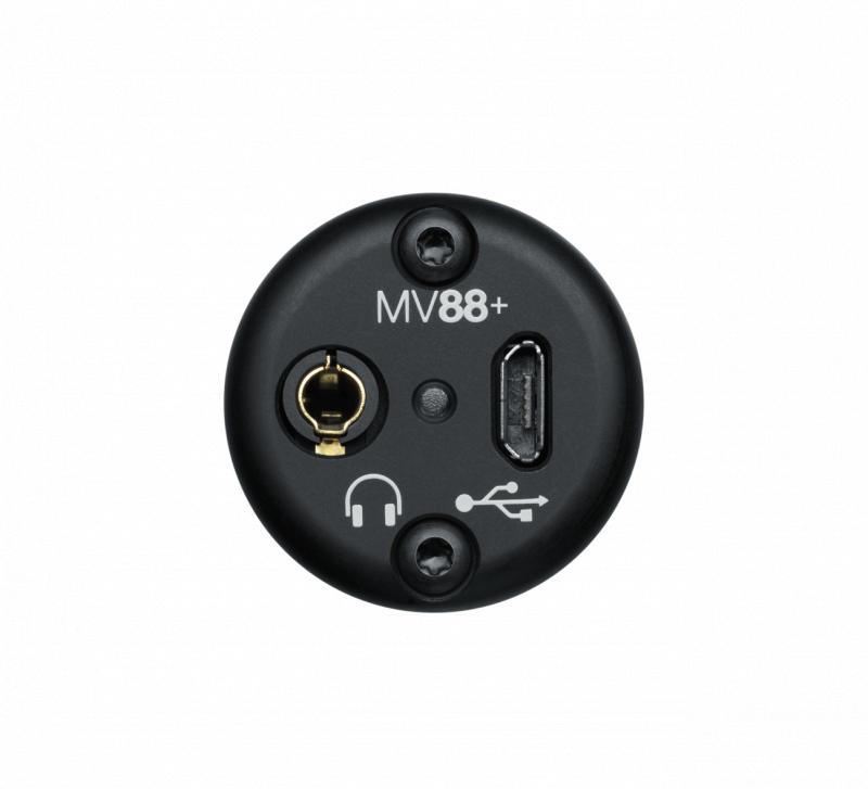【香港行貨】SHURE MV88+ Video Kit [Digital Stereo Condenser Microphone]