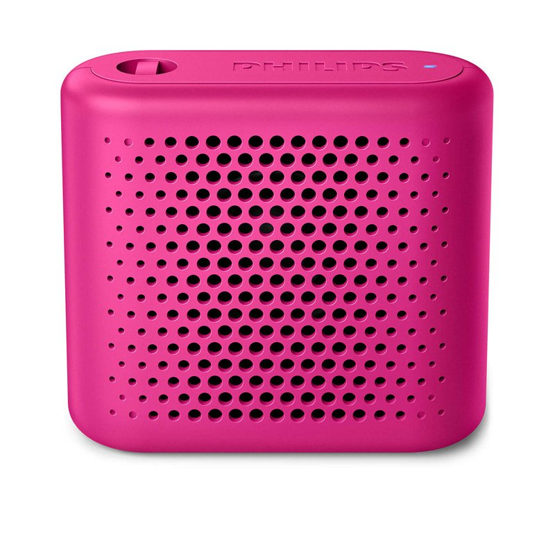 Philips - 無線便攜式喇叭 BT55P/00 - 粉紅色 Wireless Portable Bluetooth Speaker Pink