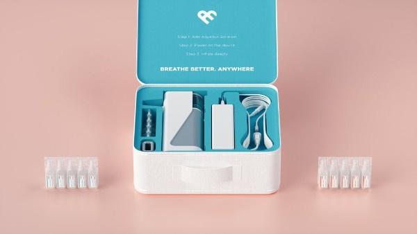 美國Avya便攜納米蒸氣洗鼻機