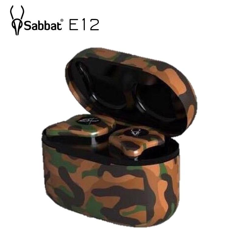 Sabbat E12 迷彩特別版 真無線運動藍芽耳機