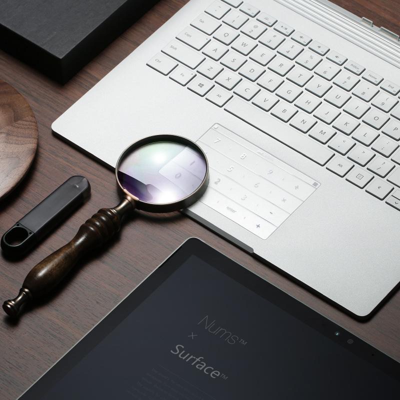 拉酷 NUMS 超薄智能鍵盤 無綫數字鍵盤 適應各系列筆記本電腦