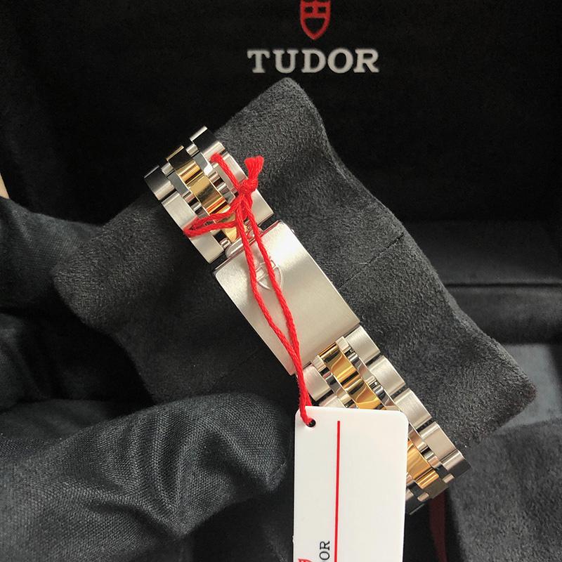 Tudor/帝舵 Prince Date 34mm 黃金-不銹鋼 香檳面 自動機械 M74033-0015