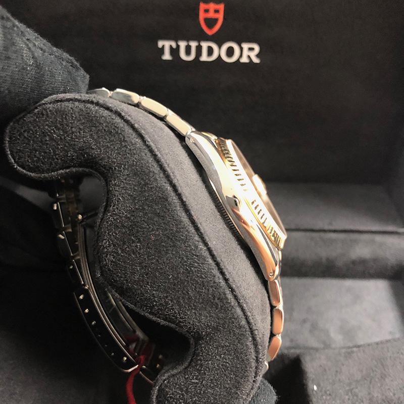 Tudor/帝舵 Prince Date 34mm 不銹鋼-黃金 香檳面 自動機械 M74033-0005