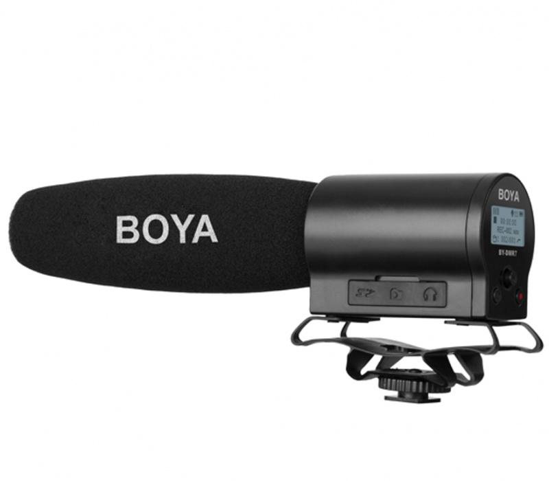 (全港免運) BOYA BY-DMR7 槍形指向收音咪/機頂咪錄音單反相機麥克風