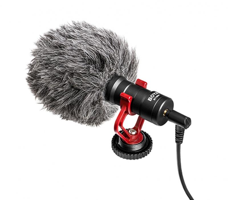 BOYA BY-MM1 單反 手機 音頻錄音麥克風 DSLR