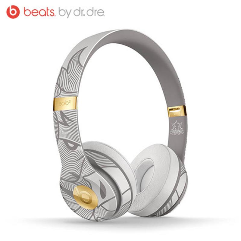 【香港行貨】Beats Solo3 Wireless 頭戴式耳機 – 農曆新年特別版 – 銀翼灰