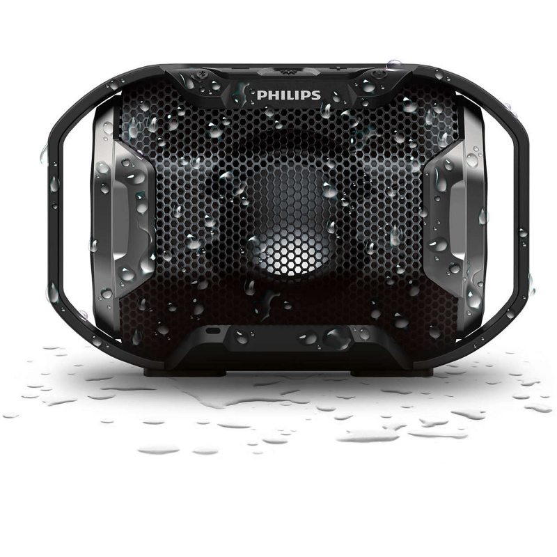 Philips - Shoqbox SB300B/00 無線便攜式喇叭 - 黑色 Wireless Portable Bluetooth Speaker Black