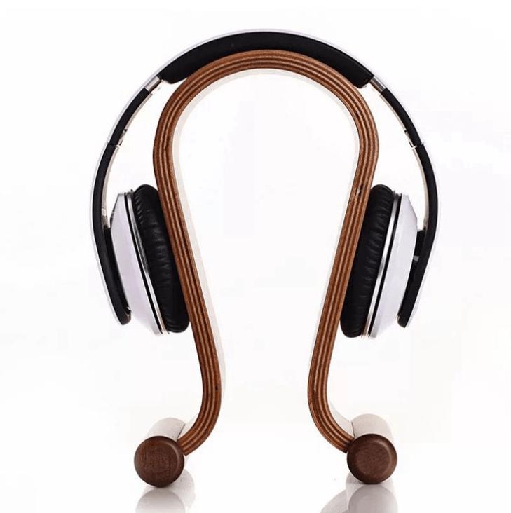 木質工藝耳機架