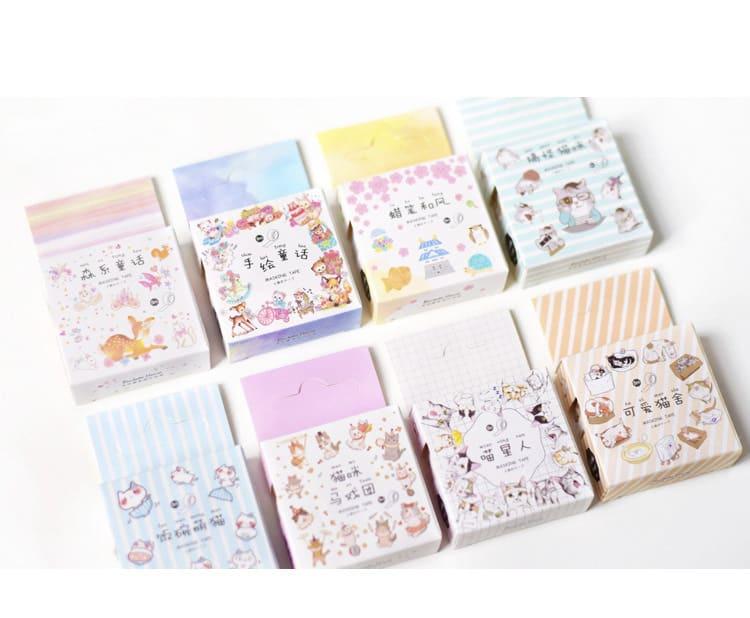日式和紙膠 可愛動物系列
