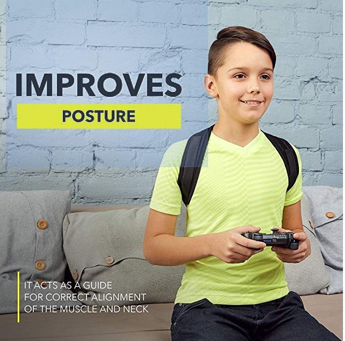 兒童背部矯型輔助器