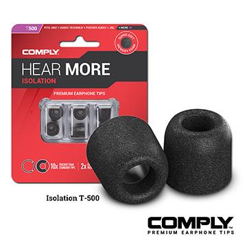 Comply T 系列 記憶泡綿耳塞 (3-pair)