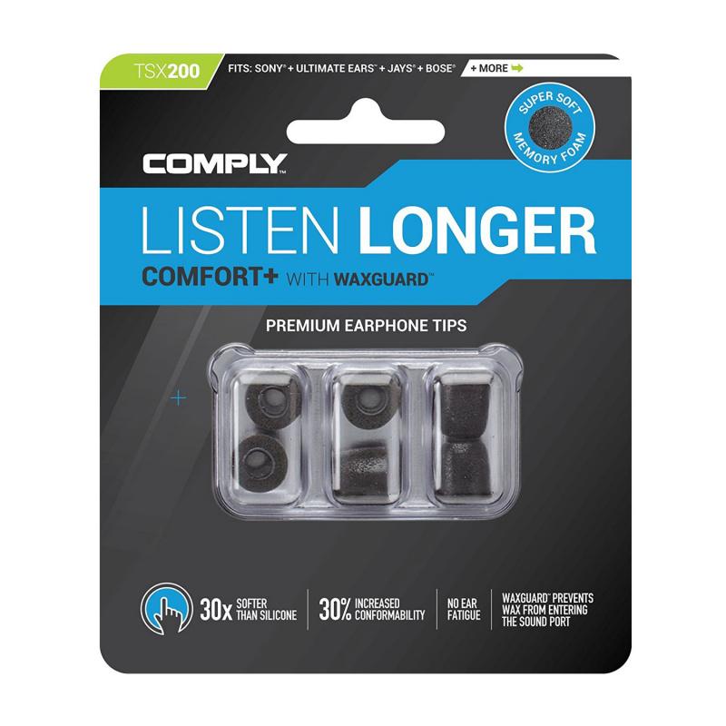 Comply TSx 系列 記憶泡綿耳塞 (3-pair) TSx100/200/400/500